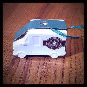 Starbucks coffee truck ornament